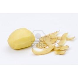 Aardappelen geschild