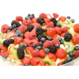 Fruitsalade vers gesneden